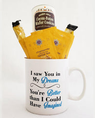 A Sweet Treat for Your Valentine - Tea and Mug Gift Set by Tipsy Totes