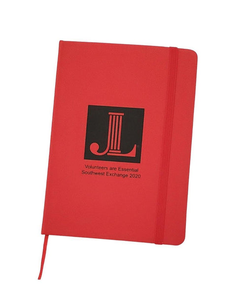 JLLV Volunteers Are Essential Notebook - Tipsy Totes | Wine Gifts | Beer Koozies | Wine Totes | Simply Fabulous