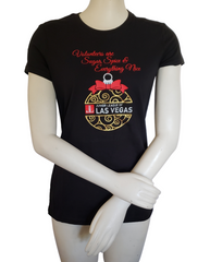 Junior League Holiday Ornament T-shirt in shimmery gold and silver