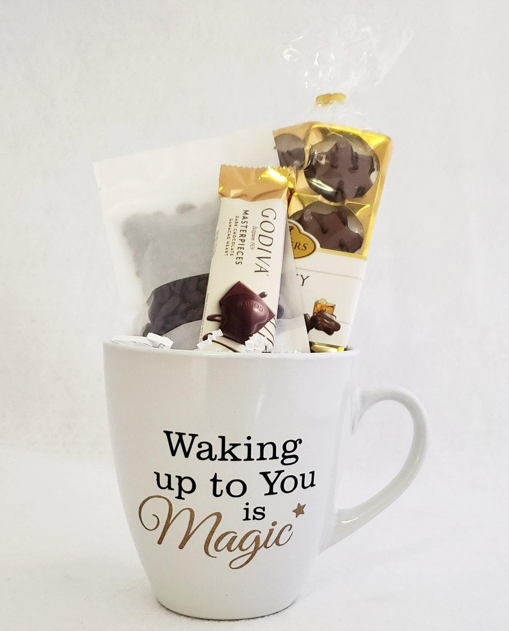 Waking Up To You is Magic Coffee & Chocolate Gift Set