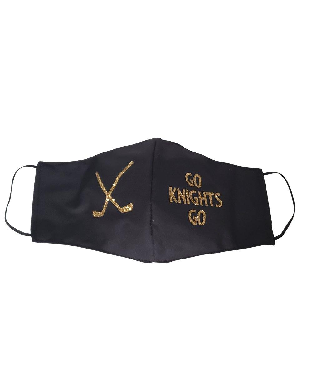 Go Knights Go VGK Face Mask