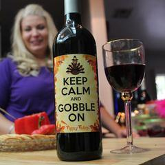 PRINTABLE THANKSGIVING WINE LABELS