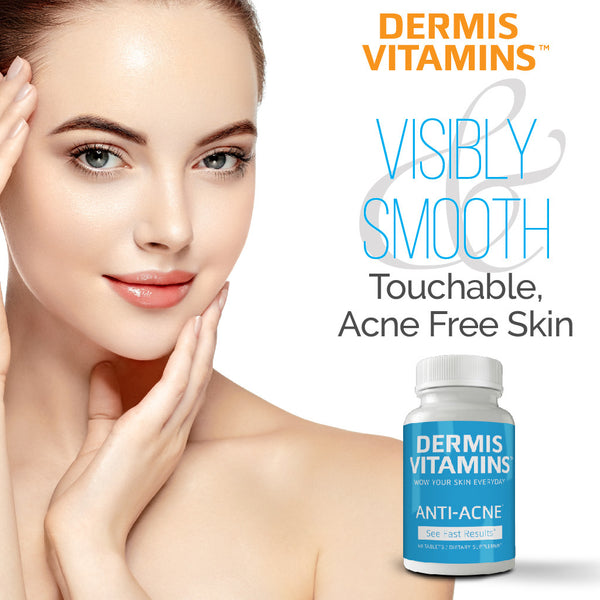 Dermis Vitamins, Inc.™ Anti-Acne 6 Month