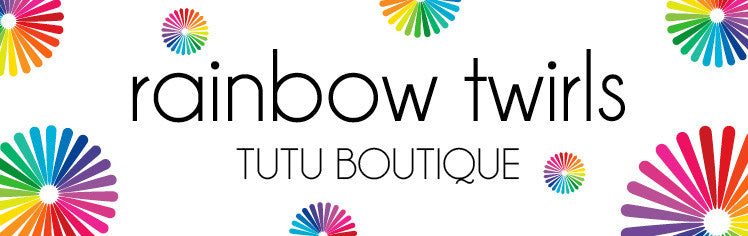 Rainbow Twirls Tutu Boutique