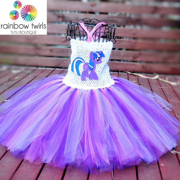 Twilight Sparkle Inspired Tutu Dress