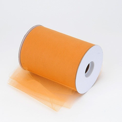 Old Gold premium soft nylon tulle 6 inch x 100 yard roll