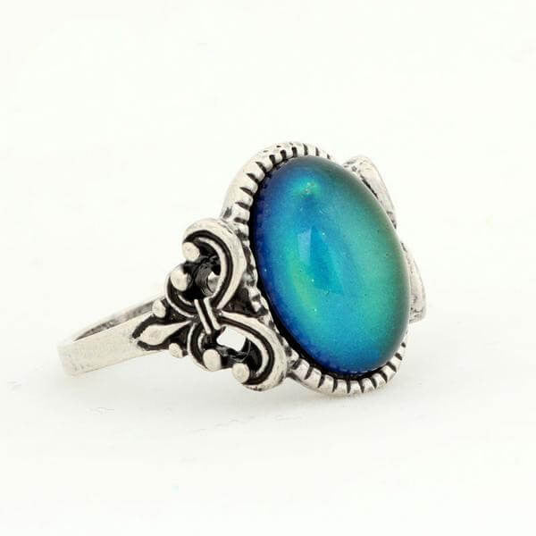 """The Behelith"" Color Morphing Antique ring"