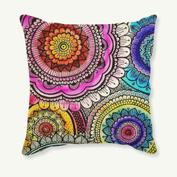 Hot Sale 45X45CM Decorative Pillow Covers Lovely Decorative pattern Driving Linen Pillow Case Christmas Decorative Linen