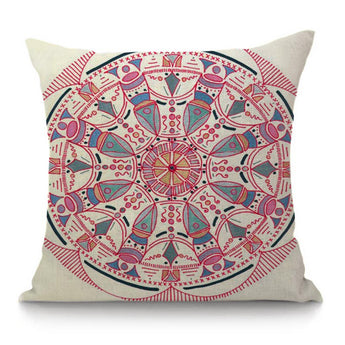 Sacred Geometry Pillow cases home decorative mandala circle