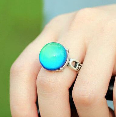 Chromorphia Vintage Color Changing Ring with Emotion & Temperature
