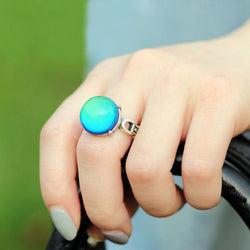 Chromorphia™ Vintage Color Changing Ring with Emotion & Temperature