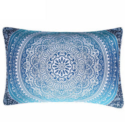 Pillow Case Crystal Arrays Mandala Printed Pillowcase 1Pc 50x75cm/50x90cm