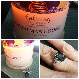 Christmas Cookie Ring Reveal