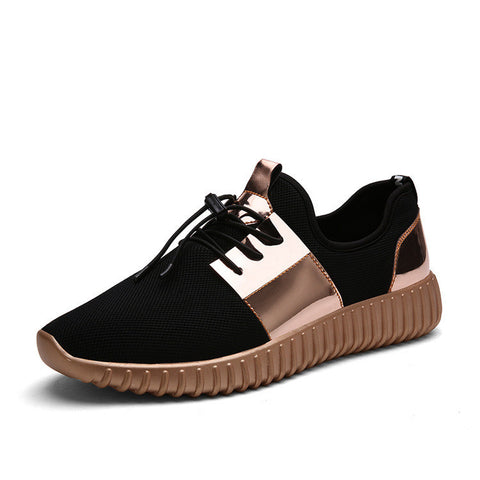 Air Mesh Glossy Outdoor Shoes - DendiShop