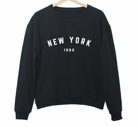 NEW YORK 199X Sweatshirt - DendiShop