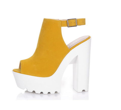Open Toe High Platform