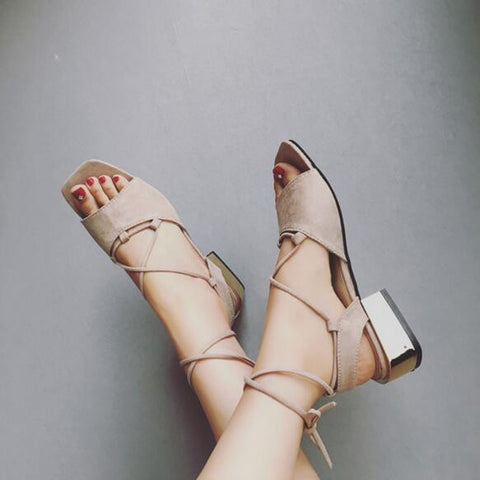 Ankle Strap Gladiator Sandals