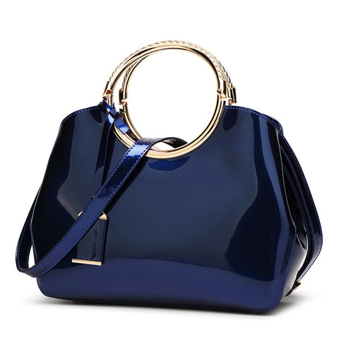 Patent Leather Women Bag - DendiShop