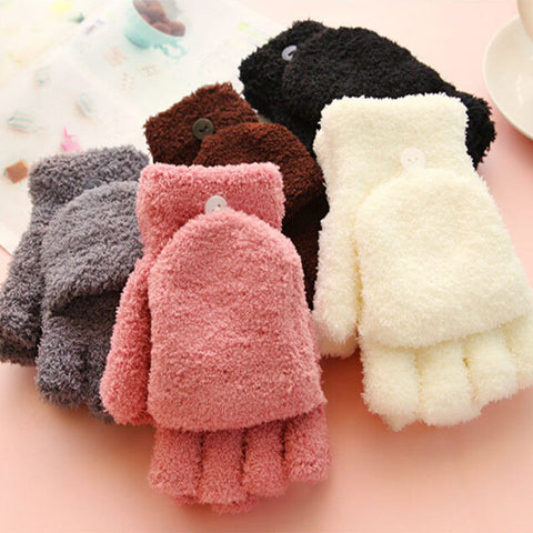 Women Finger less Winter Fall Hand Wrist Warmer - DendiShop