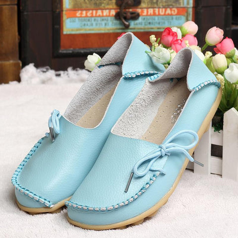 Moccasins Soft Leisure Flats - DendiShop