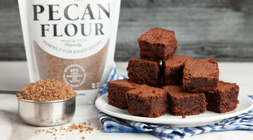 Pure Pecan Flour Brownies