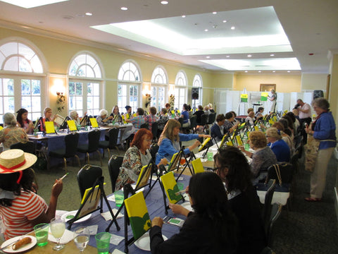 corporate team building classes ginger myers art painting instruction group