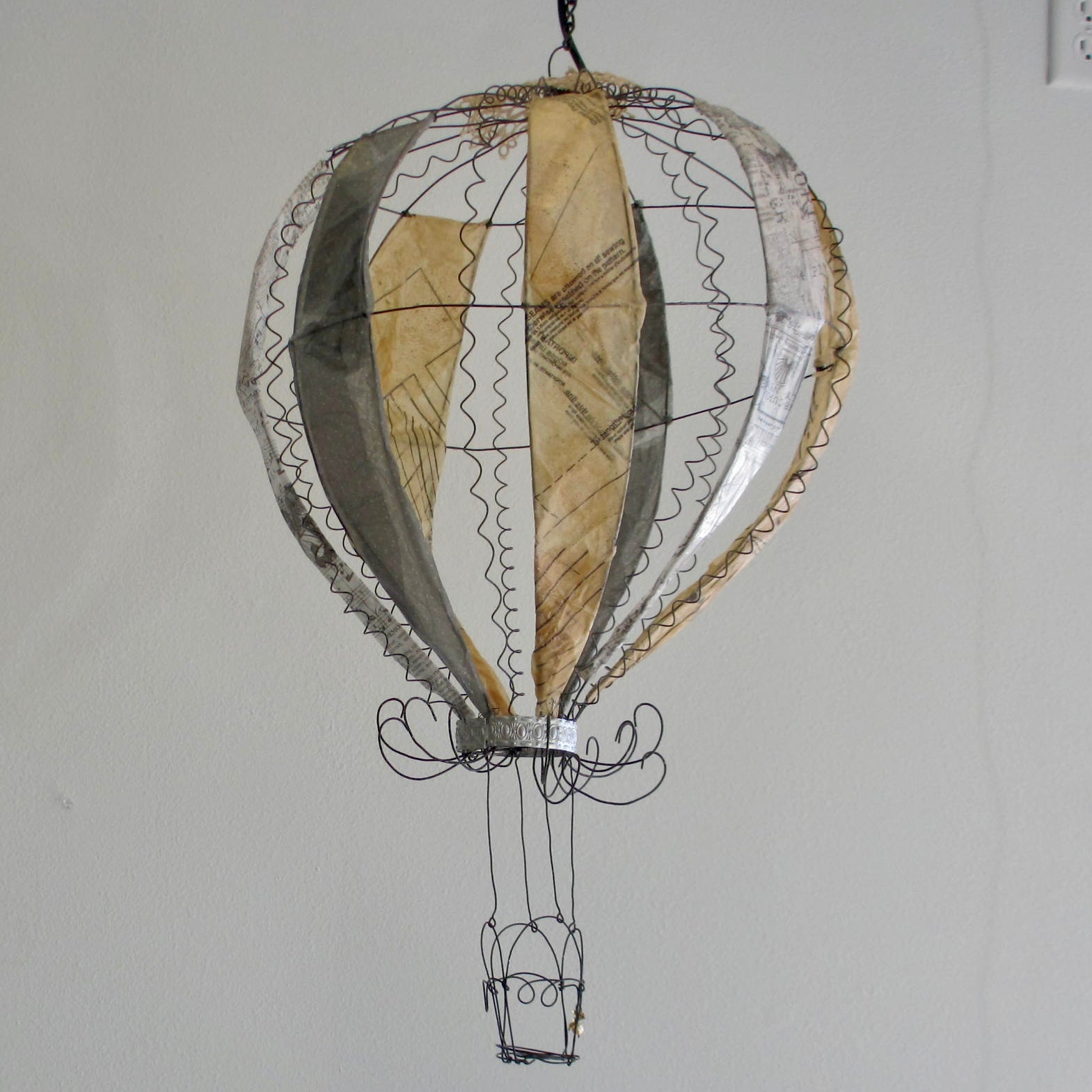 Whimsical Hot Air Balloon