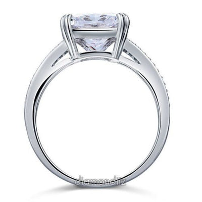 6 Carat Lab Created Diamond 925 Sterling Silver Luxury Ring