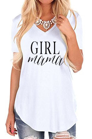Girl Mama - Womens' Flowy Tee - The Kinsley Collection