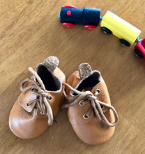 Lace Up- Monogrammed Baby Moccasins - The Kinsley Collection