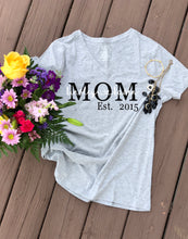 Personalized Mom & Kids' Name Tee - The Kinsley Collection