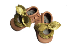 Monogrammed Moccasins - Scalloped Double Bow