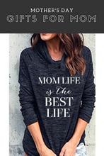 Mom Life is the Best Life Active Sweater - The Kinsley Collection