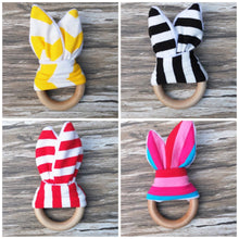 Monogrammed Baby Fabric Ring - The Kinsley Collection