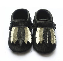 Feather Monogrammed Moccasins - The Kinsley Collection
