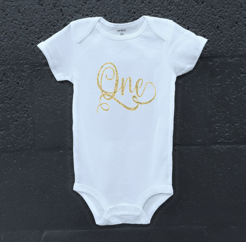 Stylish One Onesie - The Kinsley Collection