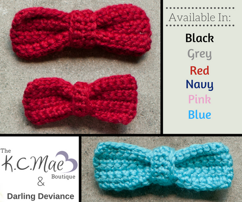 Mens Knit Bowties
