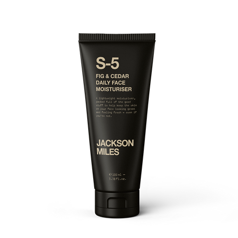 Men's Skincare Jackson Miles Fig and Cedar Daily Face Moisturiser