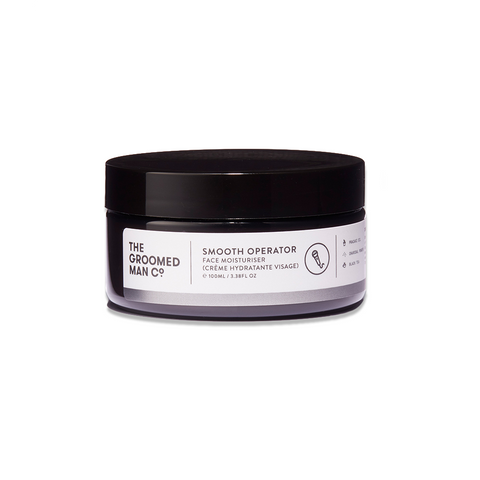 The Groomed Man Co. Smoother Operator Face Moisturiser