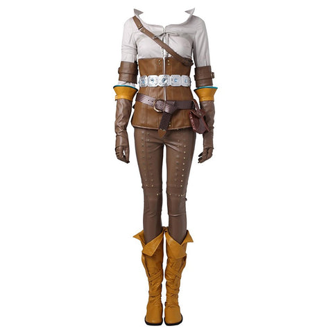 CosplayDiy Women's Suit for The Witcher 3: Wild Hunt Cirilla Cosplay XL