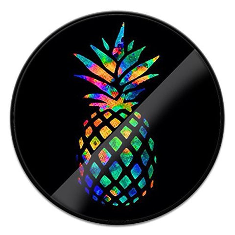 Pop Out Phone Grip,Expanding Stand and Grip for Smartphone and Tablet-Pineapple 1