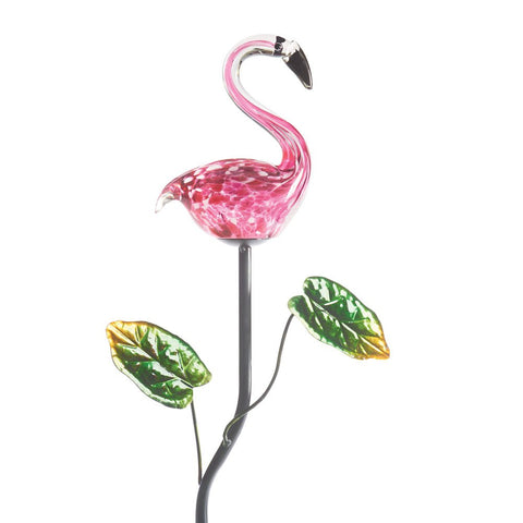 Pink Flamingo Garden Stake - Lighted Solar Powered Lawn Ornament