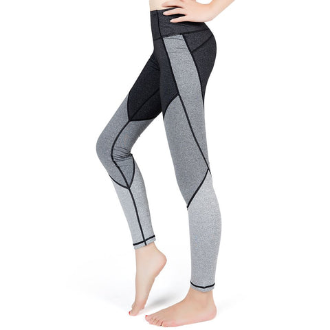 Yoga Pants For Women Compression Workout Running Leggings--Lesfun