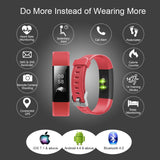 Letsfit Fitness Tracker, Activity Tracker with Heart Rate Monitor and Sleep Monitor, Step Counter Pedometer Watch, IP67 Water Resistant Smart Band for Kids Women and Men