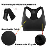 U-Pretty Sports Bra Seamless Women Wirefree Tank Bra Exercise