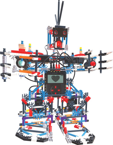 K'NEX Education – Robotics Building System Set – 825 Pieces – For Ages 10+ Engineering Education Toy