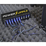 Donner Dp-1 Guitar Pedal Power Supply 10 Isolated DC Output for 9V/12V/18V Effect Pedal