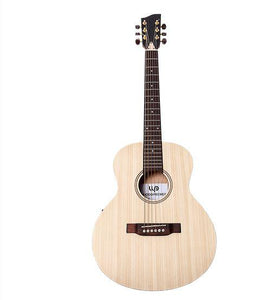 "Guitarra 36"" Woodpecker Mini Jumbo Solid Spruce Top"