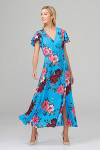 Floral Wrap Dress 202128 'will be restocked soon'