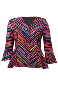 Striped Colour Jacket 212251